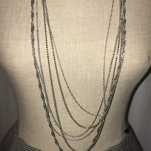 Jewelry - Long fashion multi chain necklace